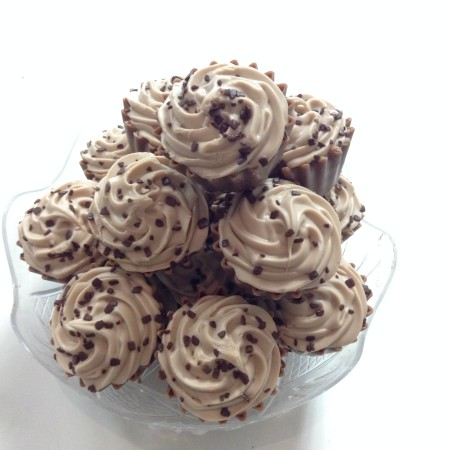 Milk Chocolate Cappuccino Cup Cakes