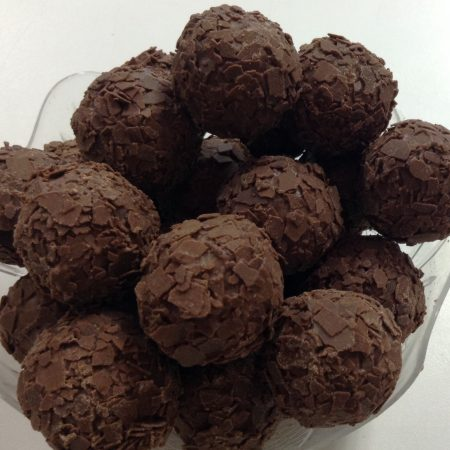 Milk Chocolate Rum Truffles