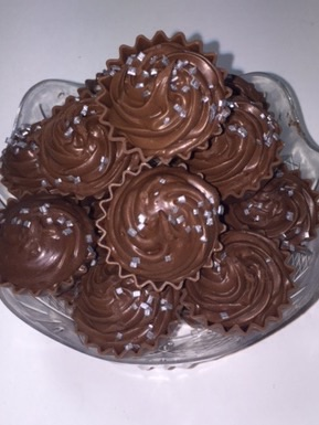 Dark Chocolate Cup Cake